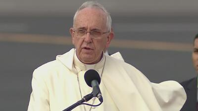 Papa Francisco: nunca pierdan la capacidad de dar gracias a Dios