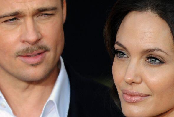 La historia de amor de Angelina y Brad es como de película. Mira...