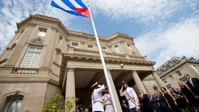 Reabre la Embajada cubana en Washington D.C.