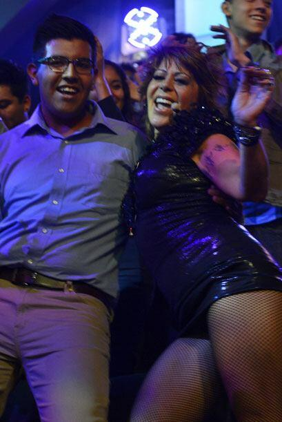 En la segunda gala se puso a bailar entre el público con la actuación de...