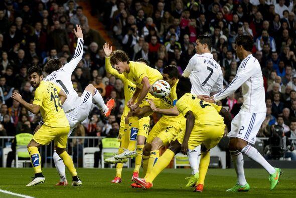 Real Madrid no aprovechó su localía y empató 1-1 con el con el Villarreal.