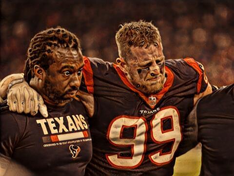 J.J. WattEl célebre defensivo de los Houston Texans se lesion&oac...