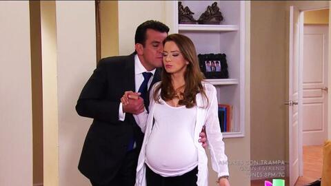 ¡Calma Ana! Ya falta poco para que seas mamá.