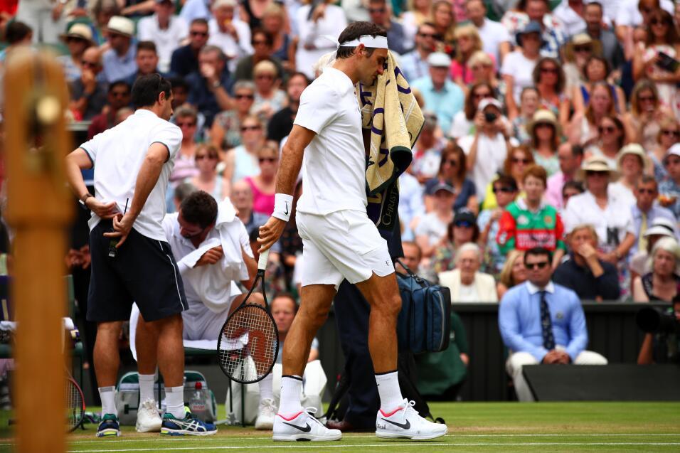 Histórico: Roger Federer vence a Marin Cilic y gana Wimbledon por octava...