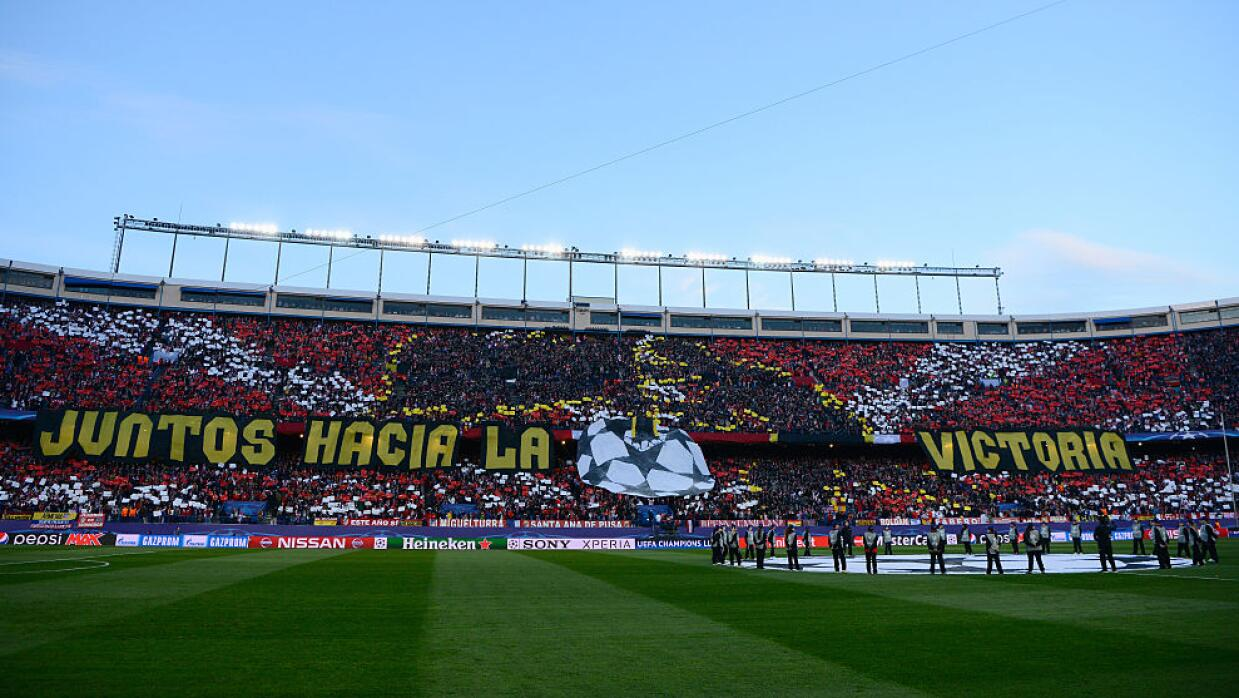 Estadio Vicente Calderón: Atlético de Madrid