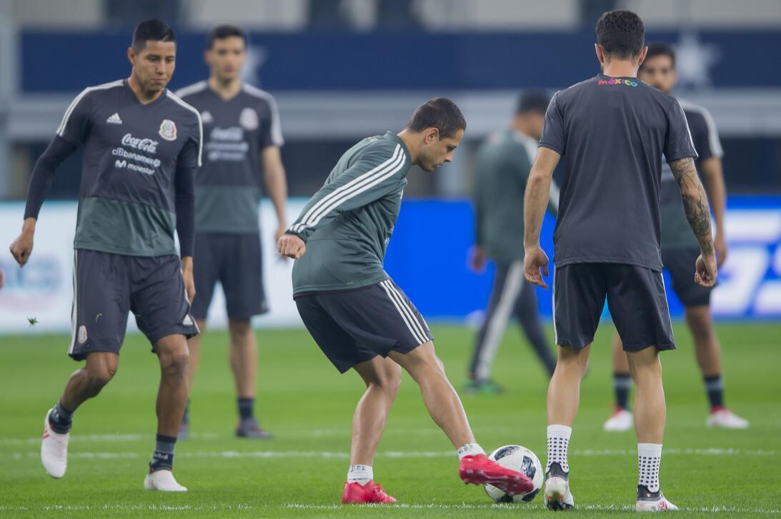 El equipo que dirige el colombiano Juan Carlos Osorio tuvo su última ses...