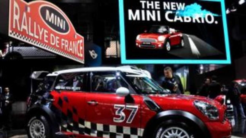 El MINI Countryman que participará en el Mundial de Rallys se robó la at...