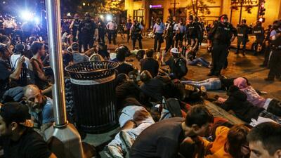 Crecen los disturbios en St. Louis tras la absolución de un policía
