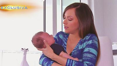 Satcha Pretto está enamorada de su bebé, Bruce