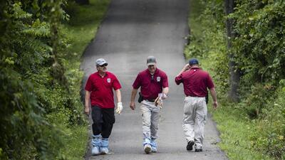 En fotos: Un joven fue hallado muerto en una fosa en Pennsylvania y la policía busca a otros tres desaparecidos