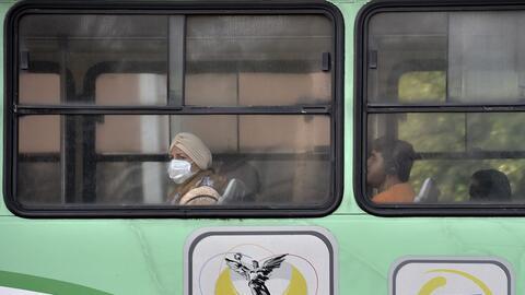 La capital mexicana es una de las ciudades más contaminadas del p...