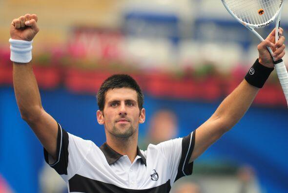 Djokovic logró su quinta victoria consecutiva en seis encuentros.