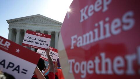 La Corte Suprema podría decidir el futuro de DACA.