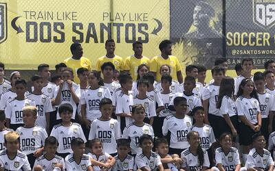 Dos Santos camp in LA