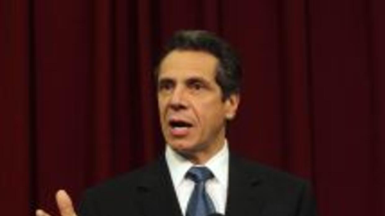 Andrew Cuomo busca ser gobernador de Nueva York.