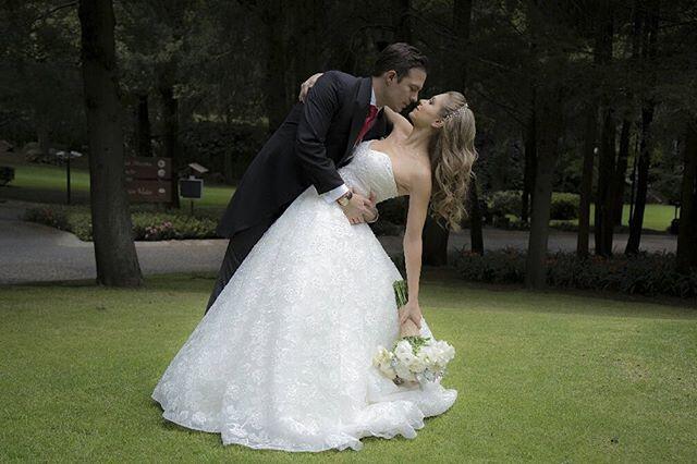 Ingrid Martz y Rodrigo Luque