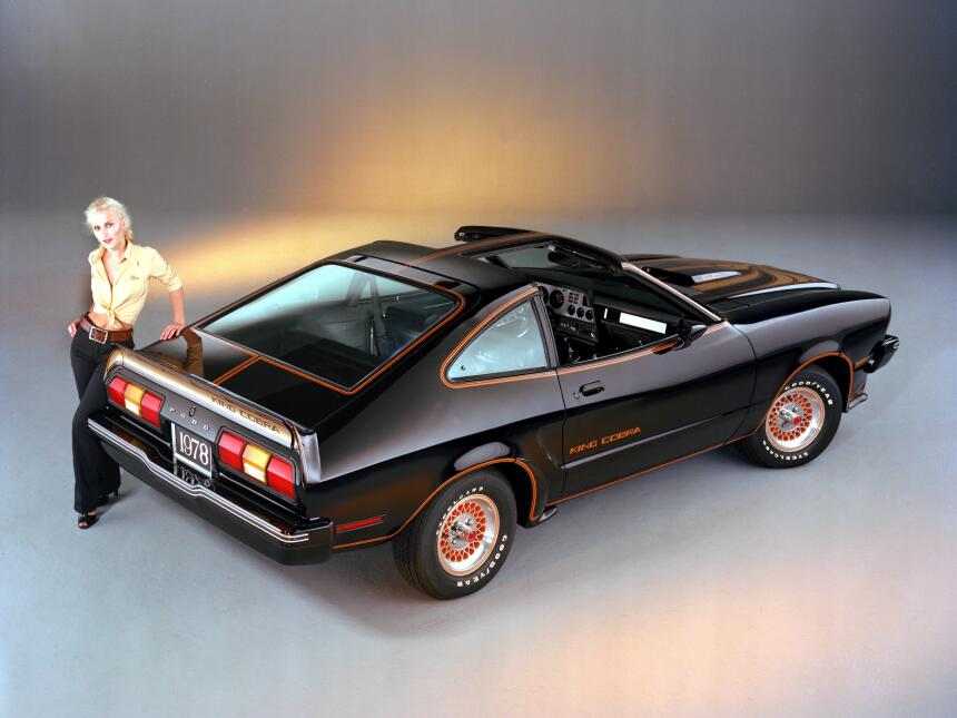 Medio siglo del Ford Mustang Fastback 1978_Ford_Mustang_II_King_Cobra_CN...