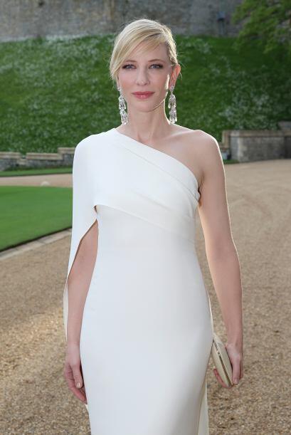 La ganadora del Oscar Cate Blanchett.Mira aquí lo último en chismes.