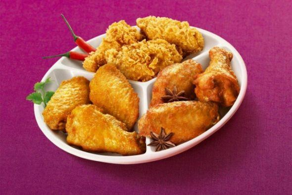 China - Chicken Wings sazonado con Yanju. Foto tomada de Twitter