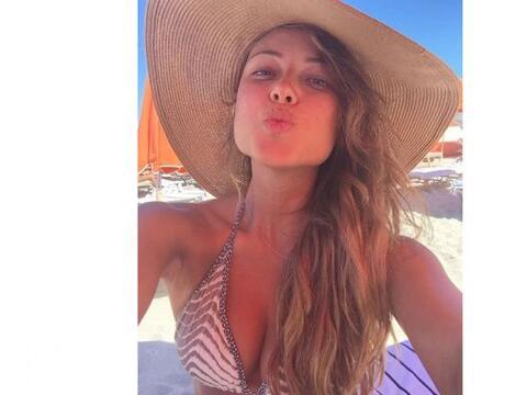 Vanessa Huppenkothen disfruta de las playas de Miami y presume cuerpazo...