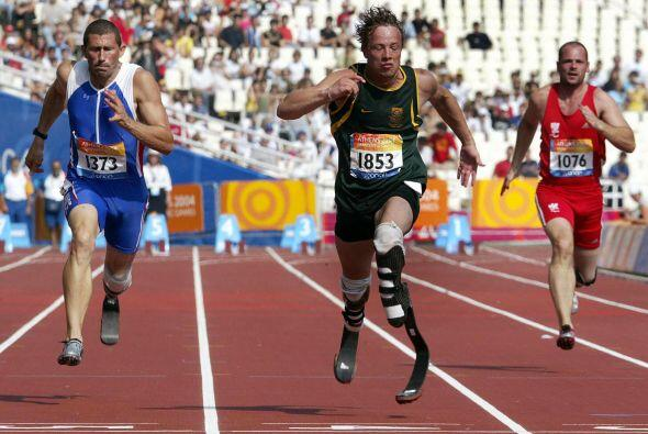 El sudafricano compitió en todo tipo de deportes incluyendo Rugby y luch...