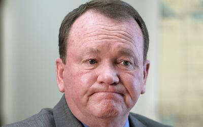 Jim McDonnell, sheriff de Los Ángeles.