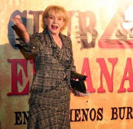 Doña Magda fue de las actrices pioneras de la televisión en México.