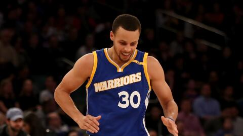 Curry entró al 'Top 10' histórico de triples.