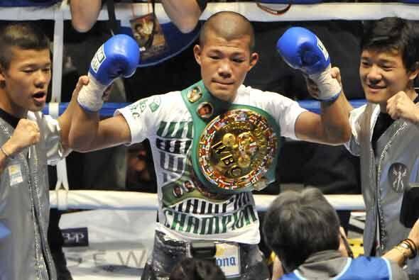 Koki Kameda llegó a 22 victorias sin derrotas y se ciñó por primera vez...