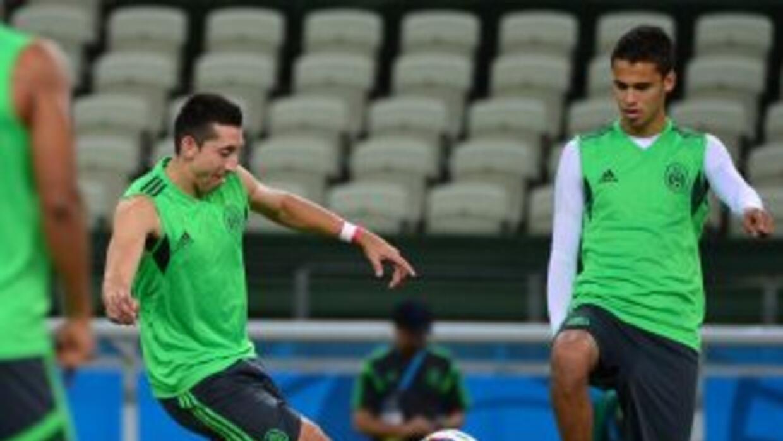 Tras su participación en el Mundial de Brasil Reyes y Herrera se integra...