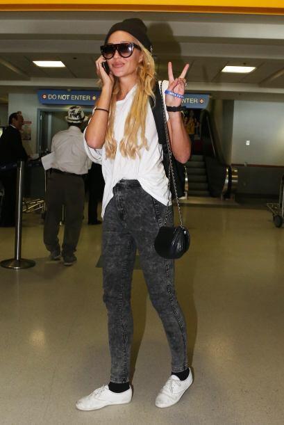 Así llegó Amanda Bynes al aeropuerto de Los Ángeles después de su escand...