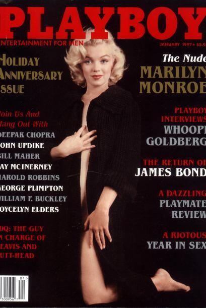"""La primera edición de """"Playboy"""" tuvo a Marilyn Monroe en portada."""