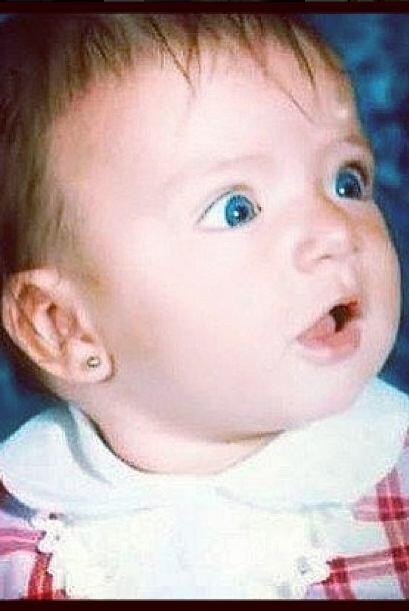 Quién se iba a imaginar que esta bebita se iba a convertir en una de nue...