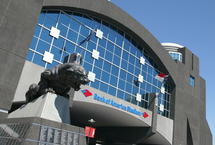 BANK OF AMERICA STADIUM- Se encuentra en Charlotte, North Carolina, y ti...