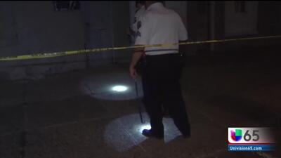 Buscan a sospechoso de tiroteo donde dos personas fueron baleadas