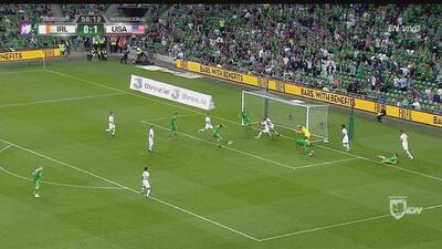 Irlanda ya le empató 1-1 a Estados Unidos