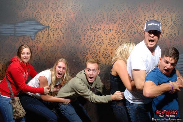Todos son asustados de la misma forma, pero cada uno tiene una reacción...