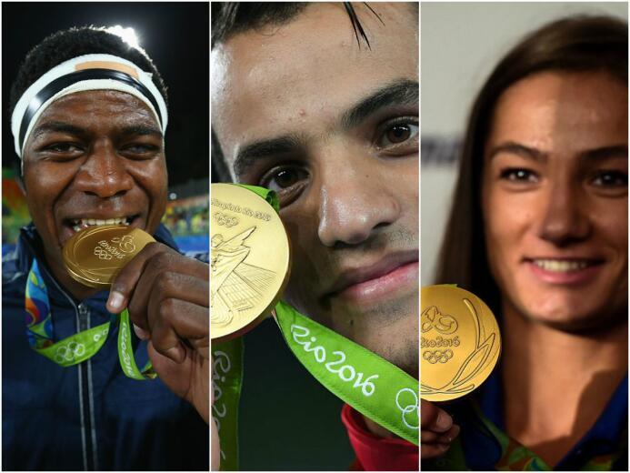 59 lograron al menos un oro, tres más que en Atenas 2004. 10 de ellos co...