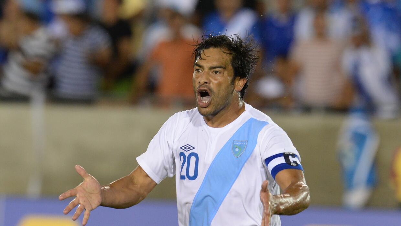 Carlos Pescadito' Ruiz será nuevamente el referente de Guatemala.