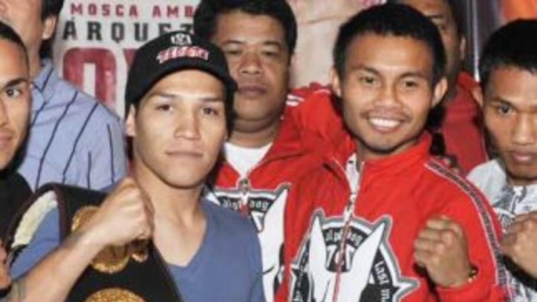 'Tyson' Márquez y Mayol prometiron dar una pelea explosiva (Foto: Zanfer)