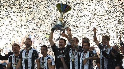 Gran celebración de Juventus en su sexto título consecutivo en la liga italiana