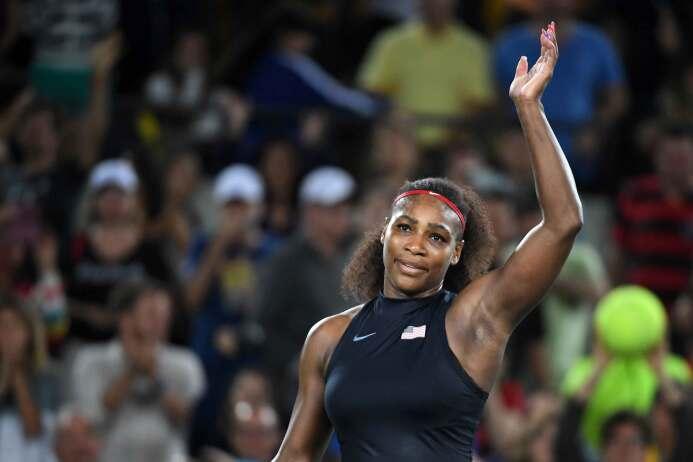 Serena Williams, vigente campeona olímpica, no dio pie a la sorpresa en...