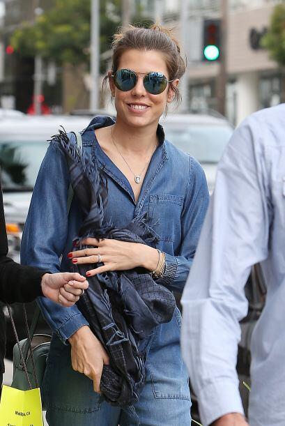 Carlota es todo un icono de la moda.