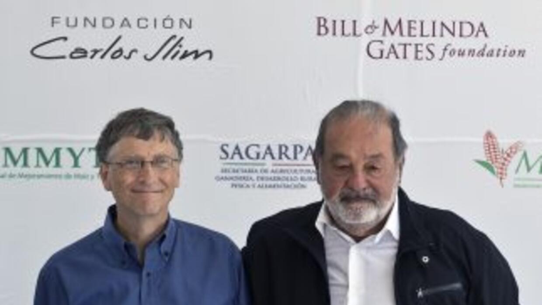 Gates logró superar a Slim por $600 millones.
