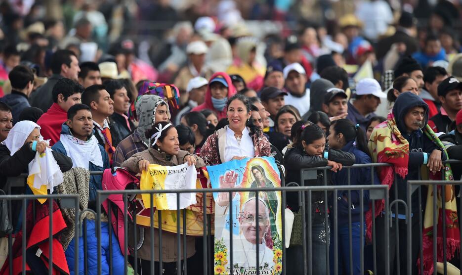 El papa Francisco en Chiapas