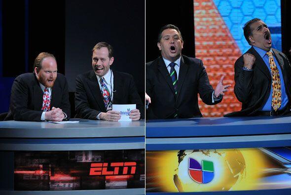 Como el mundial de fútbol está a la vuelta de la esquina, mostraron la d...