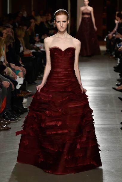 Como siempre, una presentación impecable llena de trajes sastre, vestido...