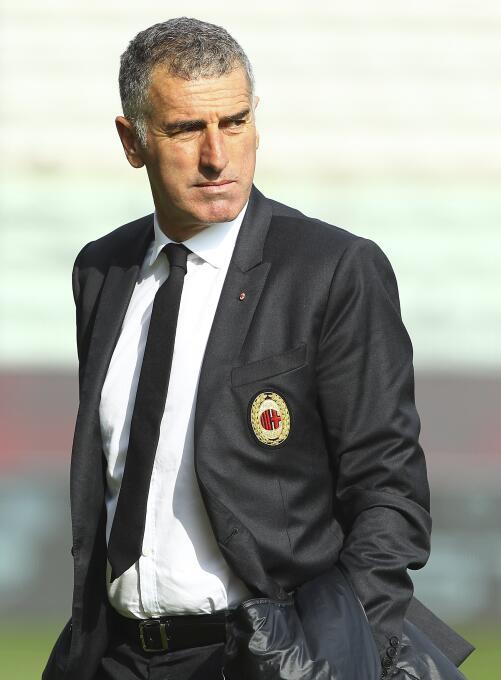 En el 2014, luego de Massimiliano Allegri, Mauro Tassotti se hizo cargo...