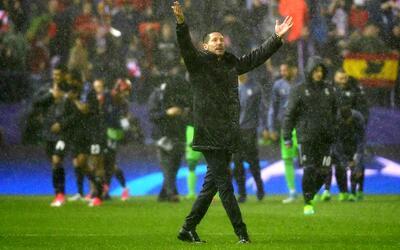 """Simeone, tras la eliminación en la Champions: """"Estoy feliz y orgulloso"""""""
