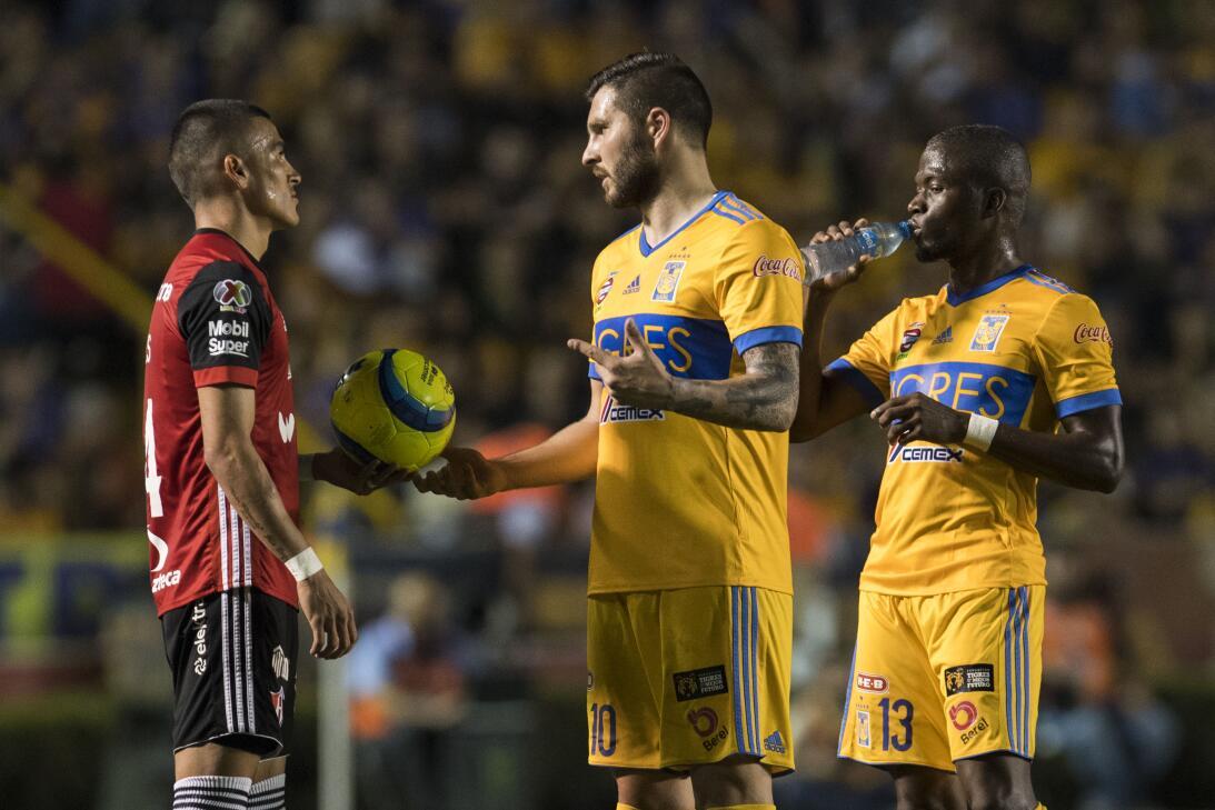 El francés llegó a 5 tantos en el torneo y empató a Henry Martín en la s...